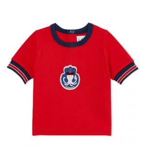 Petit Bateau Baby Boy's S/S Patterned T-Shirt