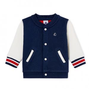 Petit Bateau Baby Boy's Fleece Cardigan