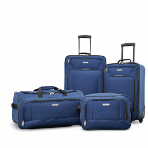 20% off + extra 37% off + Free shipping on  Fieldbrook XLT Luggage sets @ American Tourister