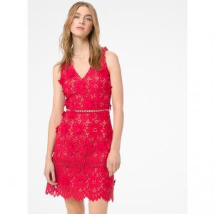 MICHAEL MICHAEL KORS Floral Appliqué Lace Dress