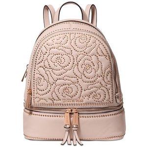 MICHAEL Michael Kors Rhea Zip Studded Backpack