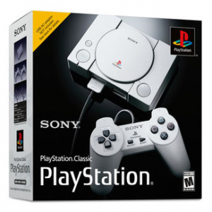 Sony PlayStation Classic Console, Gray, 3003868 @ B&H