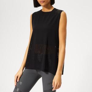 adidas Women's Warp Knitted Tank Top - Black
