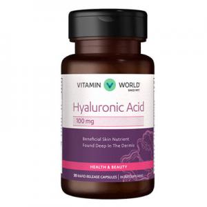 Vitamin World Hyaluronic Acid 100mg