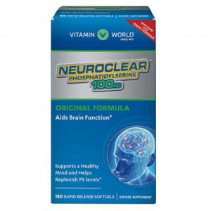 Vitamin World NeuroClear™ Phosphatidylserine 100 mg.