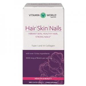 Vitamin World Hair, Skin and Nails Formula