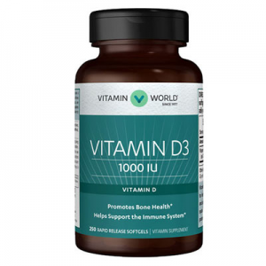 Vitamin World Vitamin D3 1000 IU