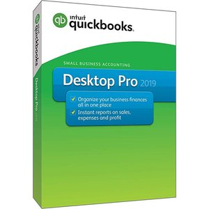 QuickBooks Desktop Pro 2019 [PC Disc]