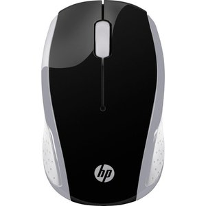 HP - 200 Wireless Optical Mouse - Silver