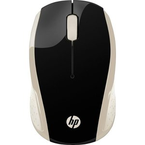 HP - 200 Wireless Optical Mouse - Silk Gold