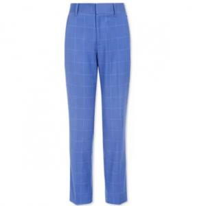 Tommy Hilfiger Big Boys Stretch Windowpane Suit Pants