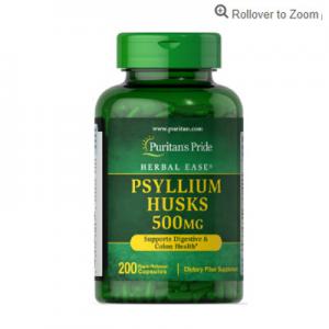 Puritan's Pride 亚麻籽壳 500 mg 200粒