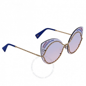 MARC JACOBS Marc Blue Gradient Cat Eye Ladies Sunglasses