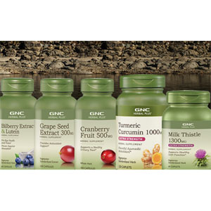 GNC 草本精华大促 收葡萄籽精华、蔓越莓果精华、飞蓟护肝水