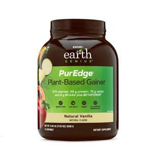 GNC EARTH GENIUS™ PUREDGE™ 植物类蛋白粉