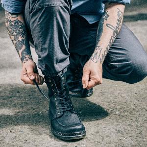 Dr. Martens Lombardo Black Fashion Boot on sale @ Amazon