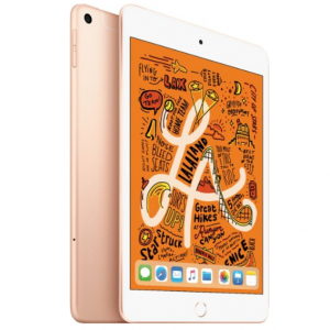 Apple - iPad mini (Latest Model) with Wi-Fi + Cellular - 64GB - Gold