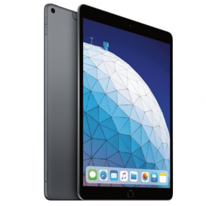 Apple - iPad Air (Latest Model) with Wi-Fi + Cellular - 64GB - Space Gray