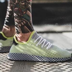 Foot Locker官网adidas Deerupt 男士运动鞋$39.99 (原价$100)