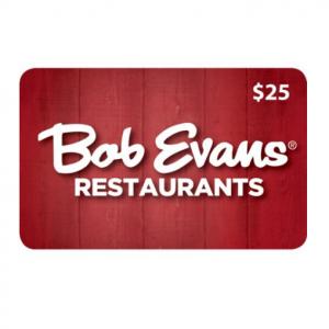 Bob Evans $50 Value Gift Cards - 2 x $25