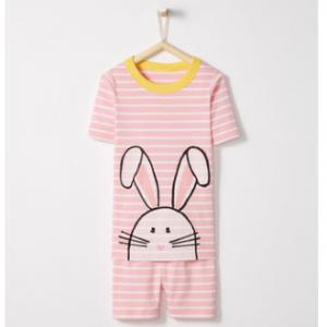 Hanna Andersson Short John Pajamas In Organic Cotton