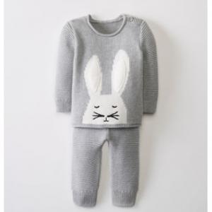 Hanna Andersson Sweaterknit Set In Organic Cotton