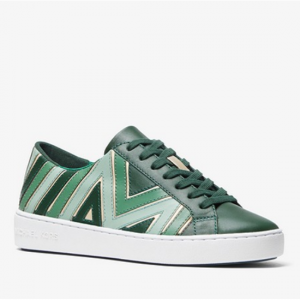 MICHAEL MICHAEL KORS Whitney Tri-Color Leather Sneaker