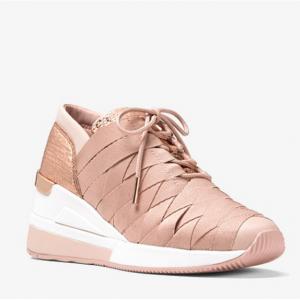 MICHAEL MICHAEL KORS Cydney Metallic Webbed Sneaker
