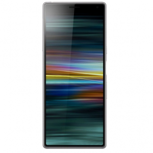 Sony - Xperia 10 Plus with 64GB Memory Cell Phone (Unlocked) - Silver