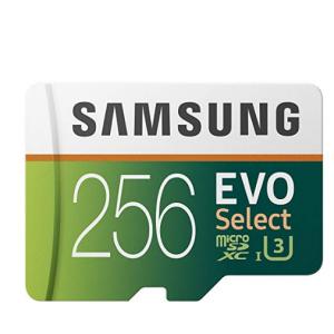 $15 Off Samsung 256GB 100MB/s (U3) MicroSDXC EVO Select Memory Card with Adapter @Amazon