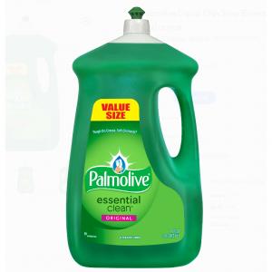 $4.52 Palmolive Liquid Dish Soap Essential Clean, Original - 90 fluid ounce @ Walmart