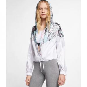 Women's Cropped Floral Jacket Nike Sportswear Windrunner