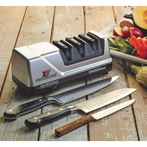 Today only: $99.99 Chef'sChoice 15 Trizor XV EdgeSelect Professional Electric Knife Sharpener