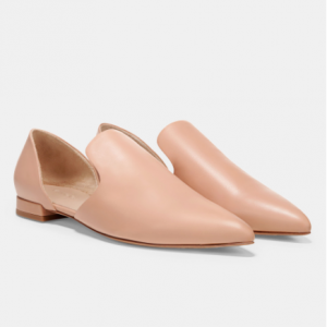 Damris Leather Flats