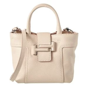 TOD's Double T Mini Leather Shoulder Bag