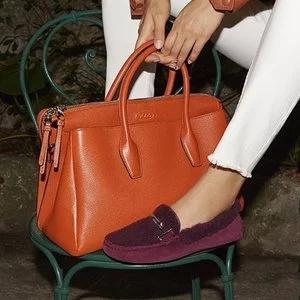 Rue La La官网精选Tod's时尚鞋履、包包低至7折优惠