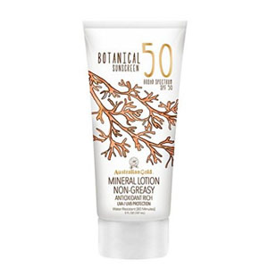 $7.49 (Was $11.97) For Australian Gold Botanical All Natural Max Strength SPF 50 Sunscreen Lotion