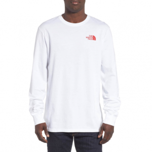 Red Box Long Sleeve T-Shirt THE NORTH FACE