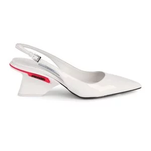 Prada Logo Patent Leather Slingback Pumps for $294.99 (was $820) @Saks Off 5th
