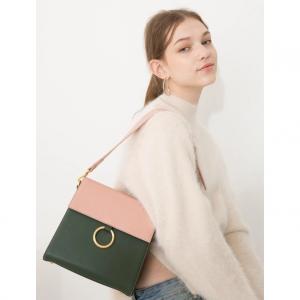 CDSD Two Strap Bag Ver.2_pink-khaki