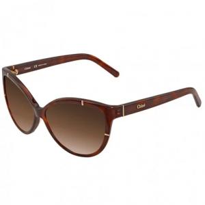 CHLOE Brown Gradient Cat Eye Sunglasses CE620S 218