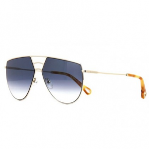 CHLOE Ricky Petrol Gradient Round Ladies Sunglasses CE139S 806