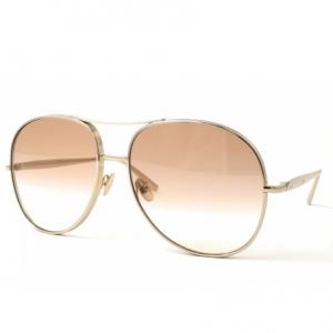 CHLOE Nola Light Brown Gradient Aviator Ladies Sunglasses CE127S 722