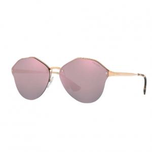 Prada Rimless Square Mirrored Sunglasses