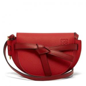 LOEWE  Gate mini grained-leather cross-body bag