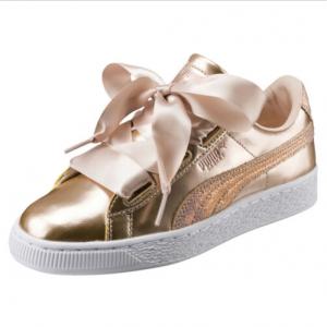 PUMA Basket Heart Lunar Lux JR Sneakers Girls Shoe Kids New