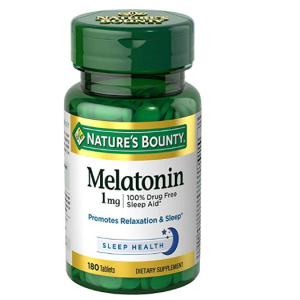 Nature's Bounty Melatonin 1 mg, 180 Tablets @ Amazon