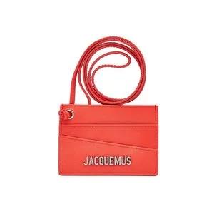 JACQUEMUS Le Porte Carte Leather Cardholder