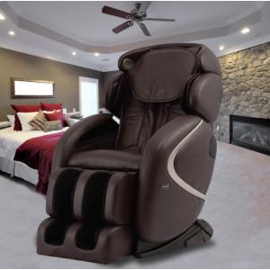 TITAN Osaki Brown Faux Leather Reclining Massage Chair