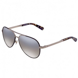 KATE SPADE Gold/Brown Aviator Sunglasses
